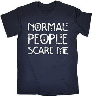 123t Men's Normal People Scare ME Tshirt