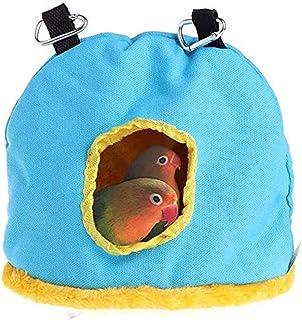 Acidea Winter Warm Bird Nest House Hut Cama Colgante Tienda de Juguete para Pet Loro Budgie Perakeet Cockatiel Conure Cock...