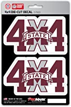 NCAA 4x4 Team Decal, 2-Pack