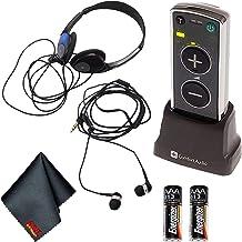 Comfort Audio Comfort Duett Portable Lightweight Hearing Amplifier Personal Listener with Headphones and Earphones Bundle