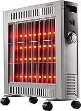 Calentador De Convección Espacial, Calentador De Infrarrojos Lejano Interior, Calefacción De Toda La Casa, Protección Contra Sobrecalentamiento, Ajuste De 4 Velocidades, 220 V 2400 W,Speed heat 2400W