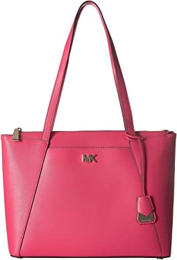 Maddie Medium E/W Top Zip Tote