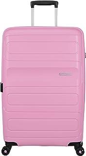 American Tourister Sunside Hardside Spinner Suitcase, 81 Centimeter, Pink Gelato
