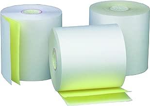 PM Company Cash Register Two-Ply Carbonless Rolls, 2-1/4 x 90 Feet, 50 Rolls per Carton (07854)