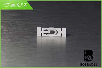 Original BOSSMOBIL kompatibel mit ZIERLEISTEN DRUCKKNOPF BEFESTIGUNG T/ÜLLEN CLIPS IN ROT 19882081#NEU# 11 X 13 X 6 mm Menge 50 St/ück