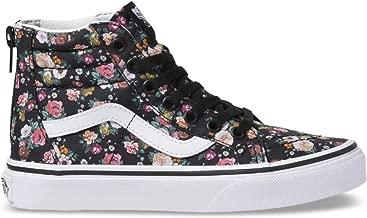 Vans Girl's Butterfly Floral Sk8-Hi Zip Skate Shoes