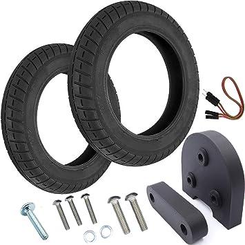 Vestigia® - Par de Neumáticos de 10 Pulgadas para Xiaomi M365 Patinete Eléctrico - Kit para Ruedas - Múltiples Opciones