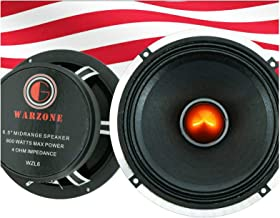$34 » Gravity WZL6 6.5-Inch Car Audio Coaxial Speaker Midrange Bullet Loud Speaker 800Watts Peak Power 4 ohm Impedance Per Voice...