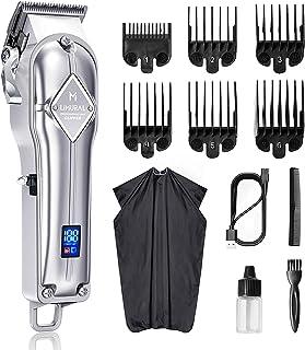 کلیپور مو لیمورال مردانه ، ست کلیپر مردانه ریش تراش ریش مو ، حرفه ای ، قابل شارژ برای آرایشگران بی سیم