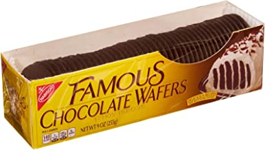 Nabisco Famous Wafers - Chocolate - 9.00 Ounces