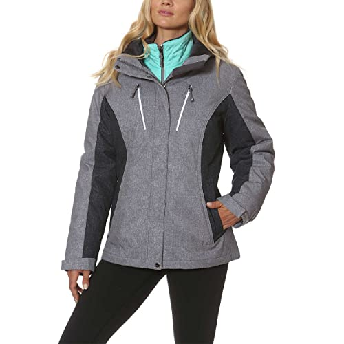 0fb19c69a33 Gerry Women s 3-in-1 Systems All Weather Jacket with Detachable Hood