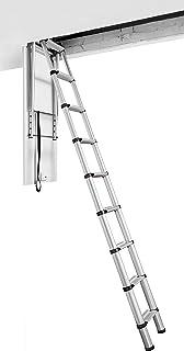 Telesteps 60324 Escalera Maxi Telescópica Loft, Plateada