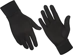 ALASKA BEAR – Natural Silk Liner Gloves Unisex