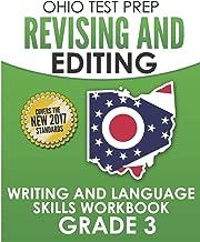 OHIO TEST PREP Revising and Editing Grade 3: Writing and Language Skills Workbook