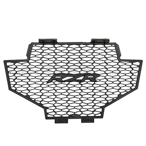 Maltese Cross White Powdercoat Radiator Grille fits 14-16 Polaris RZR 1000