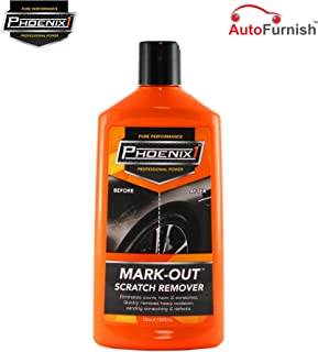 Phoenix1 Mark-Out Scratch Remover Solution Compatible with Cars and Bikes (295ml)