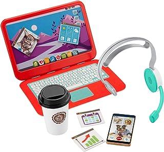 Fisher-Price My Home Office, estación de trabajo de 8 piezas para niños de 3 años en adelante.