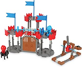 Learning Resources Engineering & Design Castle Set, STEM, Critical Thinking, Problem Solving, and Early Engineering Skills, 123 Pieces, Ages 5+