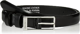 Calvin Klein Women's WINGED 2.0 Belt, Black, 75 cm