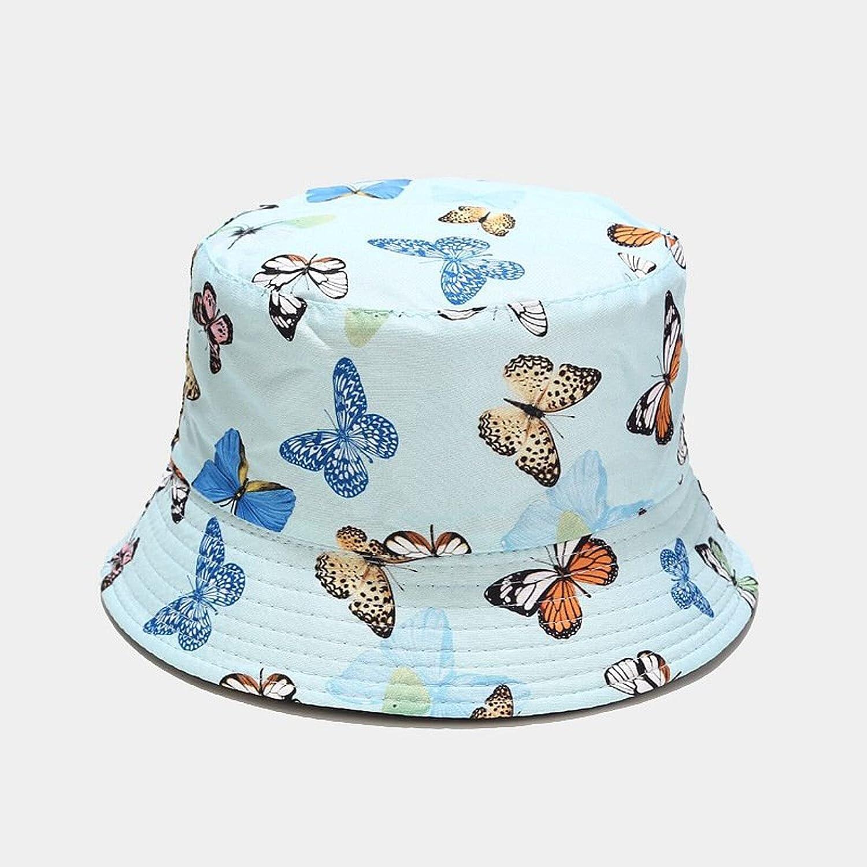 Unisex Reversible Packable Summer Travel Bucket Hat Trendy Lightweight Outdoor Hot Fun Beach Sun Hat Vacation Headwear Decor