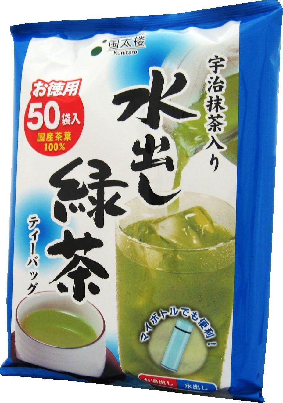 国太楼 宇治抹茶入り水出し緑茶 TB50P