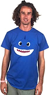 ComfyCamper Shark Shirt for Baby Boys Girls Kids Toddler Daddy Mommy and The Entire Family (Blue, S)