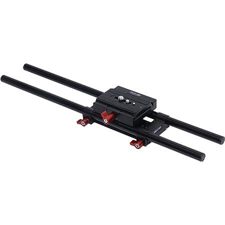 Shootvilla 15 mm Rail Rod Support System Base Plate Camera Mount for Follow Focus Matte Box Smaller Size (8595718518)