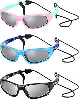 3 Sets Kids Sunglasses Children Sports Sunglasses with...
