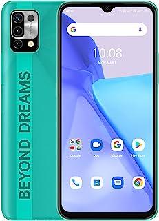 UMIDIGI Power 5 スマートフォン本体 Android 11 (4+128G) SIMフリー版 スマホ 6150mAh 大容量 バッテリー 6.53 HD+フルスクリーン デゥアル4G 1600 x 720 3眼カメラ16MP+8M...