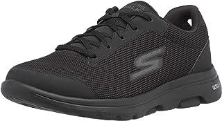 حذاء المشي الرياضي جو ووك 5 ديميتاس من سكيتشرز - جزء علوي من نسيج شبكي منسوج ناعم حذاء المشي الرياضي للرجال