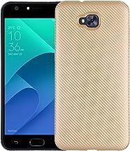 Case for Asus ZenFone Live Plus X00LDA X00LDB / ZenFone 4 Selfie ZB553KL Case TPU Silicone Soft Shell Cover Gold RK-Asus ZenFone Live Plus-Gold