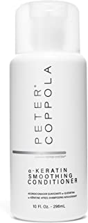 Peter Coppola Smoothing Conditioner 10 oz. - Smoothy Silky Hair - For Keratin Treated Hair - Infused with Argan Oil - Voluminous Hair