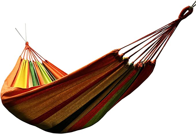 Honesh Outdoor Leisure Double 2 Person Cotton Hammocks - Best Quality