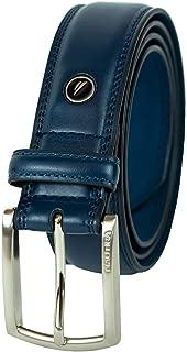Nautica Men's Belt with Dress Buckle and Stitch