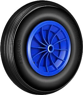 Forever Speed Kruiwagenwiel massief rubber PU wiel pechbestendig 360 x 80 mm schuifwagen banden reservewiel (1 stuks)