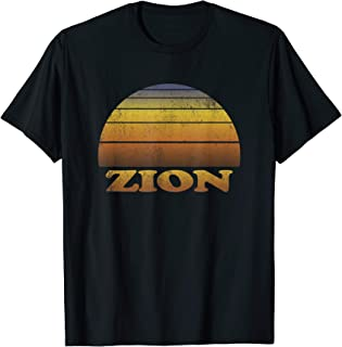 Zion National Park T Shirt Clothes Adult Teen Apparel Utah