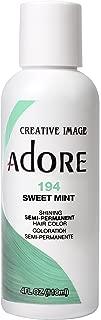 Adore Semi-Permanent Haircolor #194 Sweet Mint 4 Ounce (118ml)
