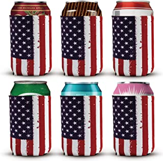 beer can american flag
