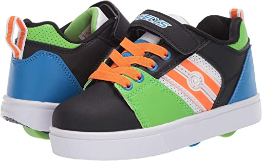 Black/Green/Blue/Orange