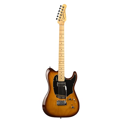 Godin Guitars Session Series 036097 Electric Guitar, Lighburst HG MN