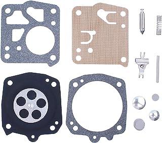 Haishine Kit de reconstrucción de diafragma de carburador Carbur para Jonsered 80 90 1020 K650 52 621/25 630