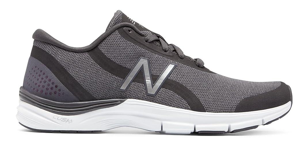 手紙を書くオリエンタル牛肉(ニューバランス) New Balance 靴?シューズ レディーストレーニング 711v3 Heathered Trainer Charcoal with Silver チャコール シルバー US 8.5 (25.5cm)