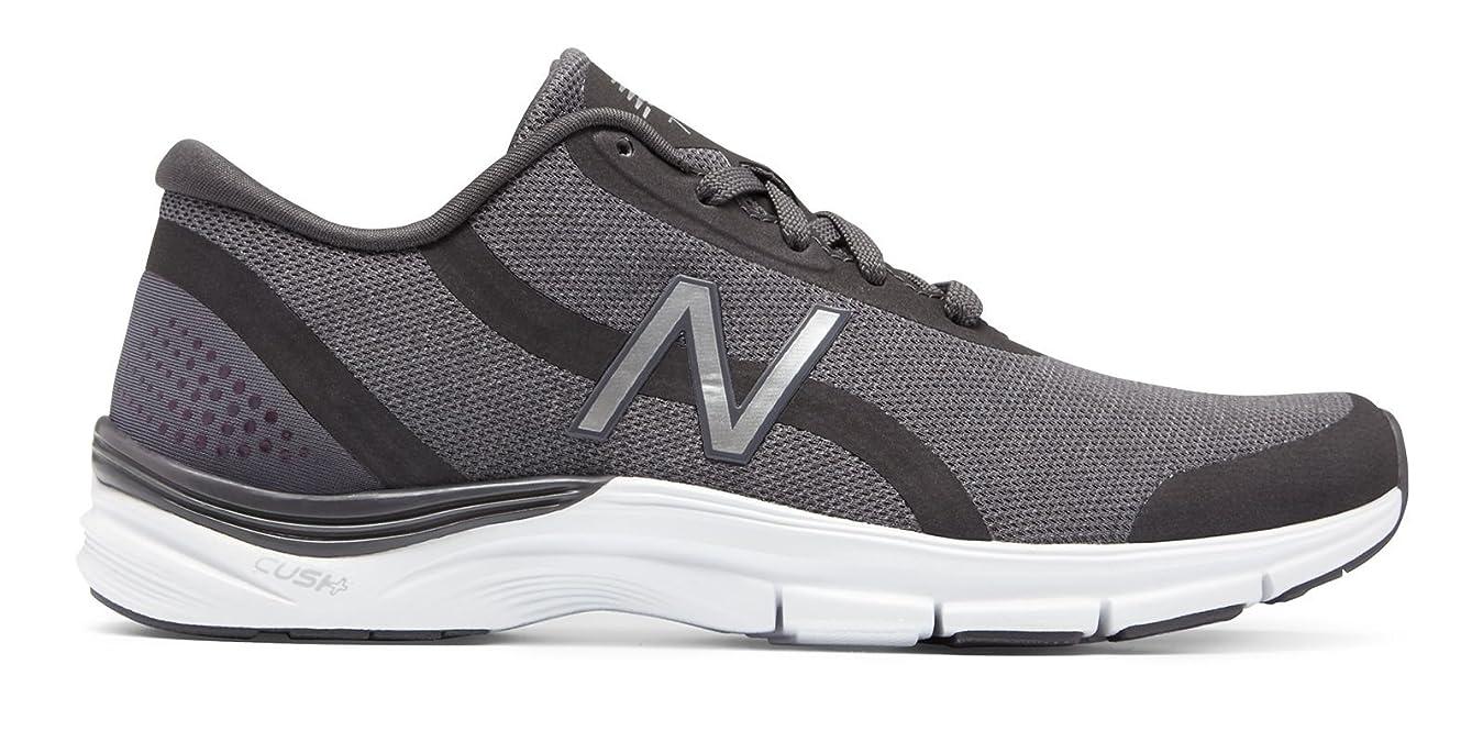 突然の変更可能廃止(ニューバランス) New Balance 靴?シューズ レディーストレーニング 711v3 Heathered Trainer Charcoal with Silver チャコール シルバー US 10.5 (27.5cm)