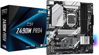 ASRock Z490M PRO4 Supports 10 th Gen Intel Core Processors (Socket 1200) Motherboard