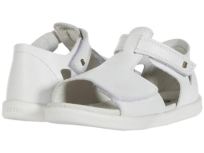 Bobux Kids  I-Walk Mirror Sandal (Toddler) (White) Girls Shoes