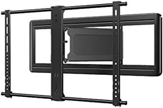 "Sanus Premium Full Motion Super Slim TV Wall Mount Bracket for 40"" 84"" TVs Holds Your TV Only 1.86 from The Wall Features 8 of Tilt, 50 of Swivel, 13.5 of Extension VLF613 B1, Black"