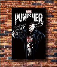 Jon Bernthal Carteles e impresiones The Punisher Marvel Tv Series Art Poster Canvas Painting Decoración para el hogar Impresión en lienzo Sin marco