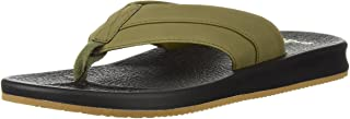 حذاء BRUMEISTER الرجالي من Sanuk بلون زيتوني داكن، 11 M US