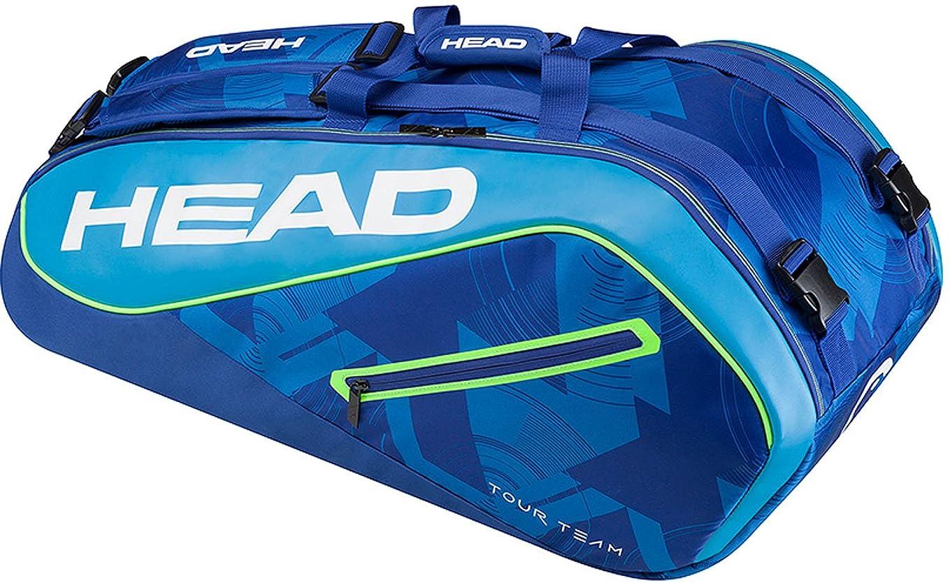 巨大小競り合い全国HEAD(ヘッド) テニス ラケットバッグ ツアー チーム 9R スーパーコンビ (テニスラケット9本収納可能) 283447