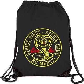 Bolsa Mochila Cobra Kai Karate Kid ochenteras 80´s Retro